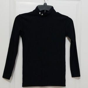 Under Armour Boys Black Compression Shirt